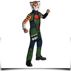 Thunder Cats Tygra Child Costume Green